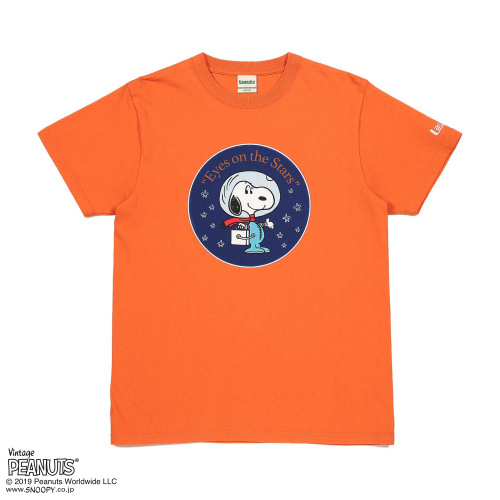 EYES ON THE STARS Tシャツ/SNOOPY×Laundry3