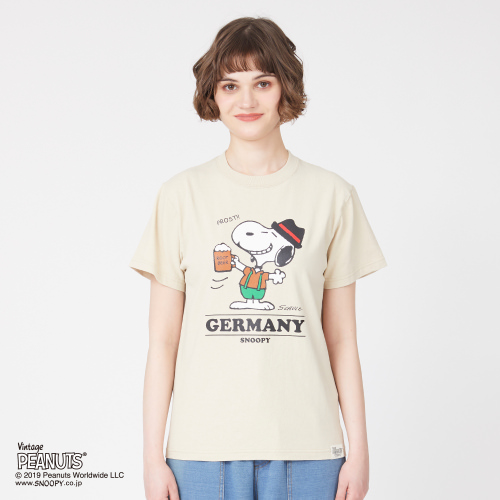 SNOOPY×Laundry GERMANY Tシャツ
