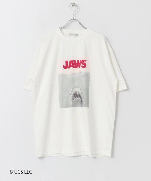 「JAWS」プリントTシャツ