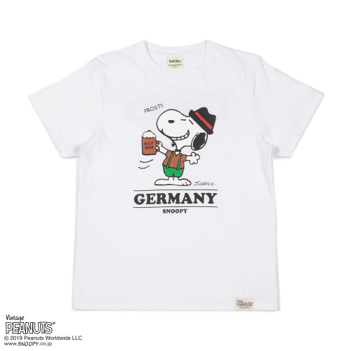 SNOOPY×Laundry GERMANY Tシャツ2