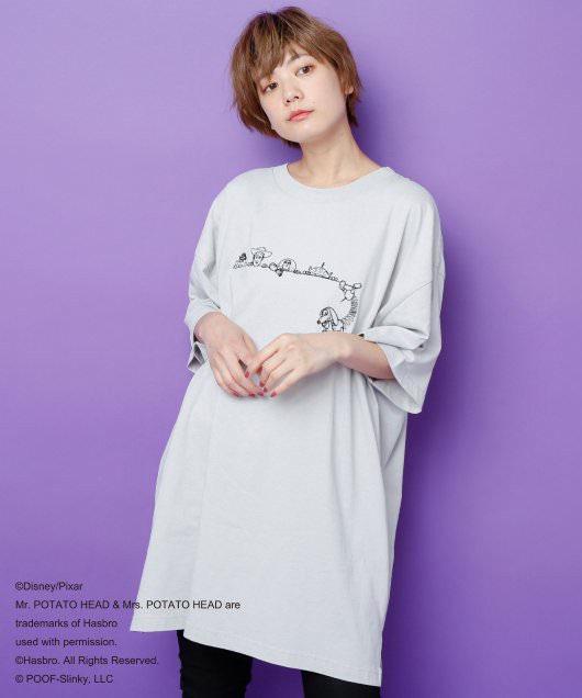 <TOY STORY> BACKロゴTシャツ3