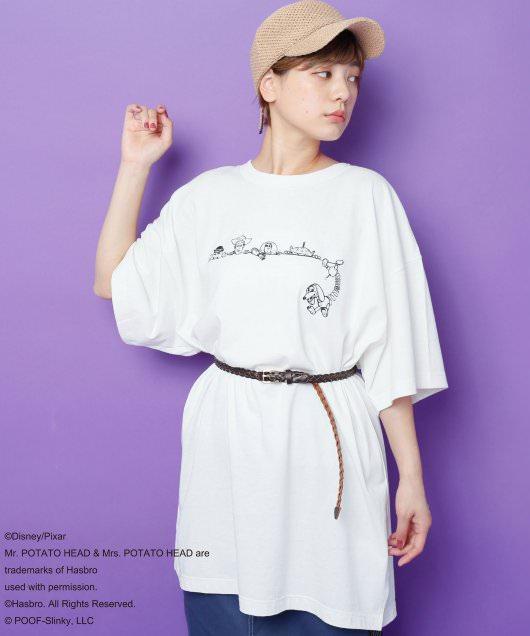 BACKロゴTシャツ4