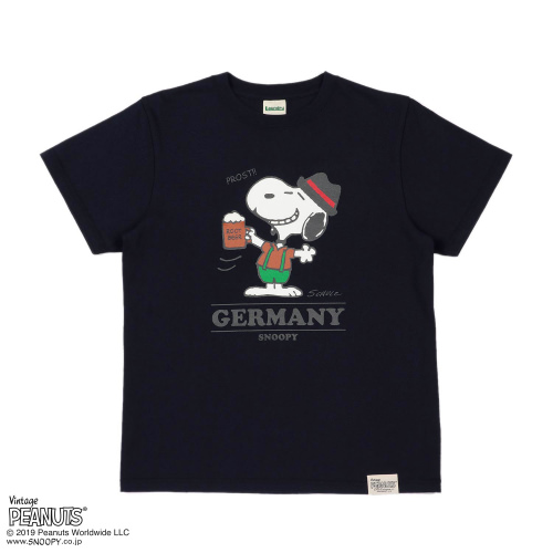 SNOOPY×Laundry GERMANY Tシャツ3