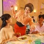 ディズニーアンバサダーホテル「『アット・ザ・テーブル』〜ミセス・ディッシュのテーブルマナーレッスン〜」写真