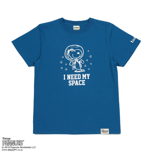 I NEED MY SPACE Tシャツ/SNOOPY×Laundry2