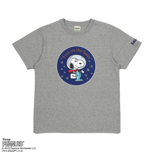 EYES ON THE STARS Tシャツ/SNOOPY×Laundry2