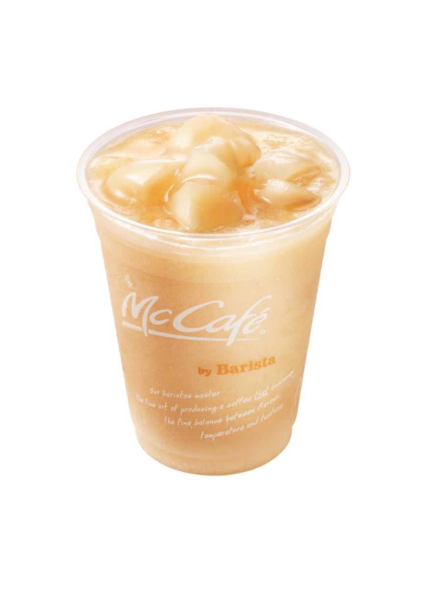 マクドナルド McCafé by Barista「桃のスムージー」