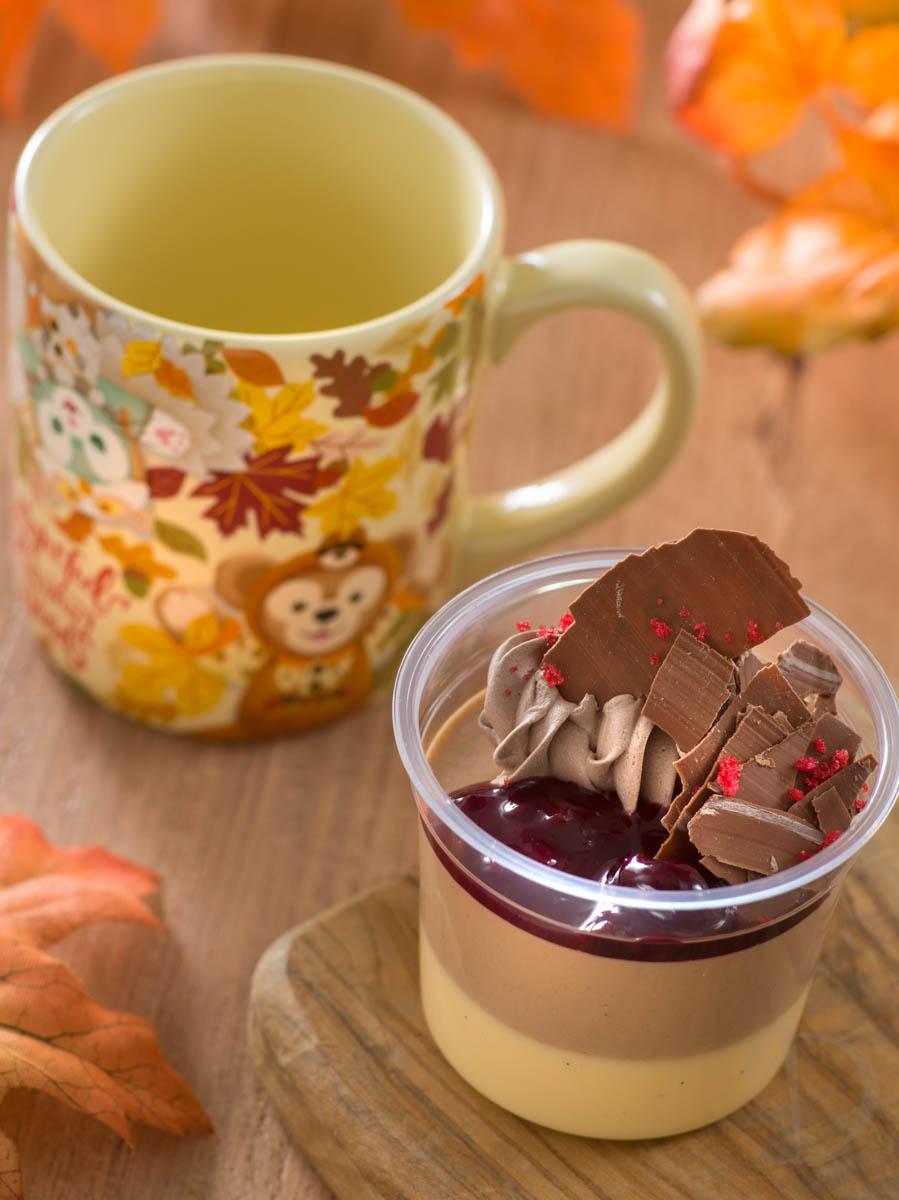 ミルクチョコムース&バニラプリン、スーベニアカップ付き