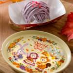 紫イモのモンブラン、スーベニアプレート付き