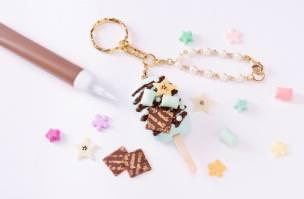ひんやりチョコミントのアイスバー