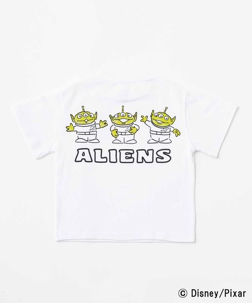 エイリアン Kid'sバックプリントTシャツ