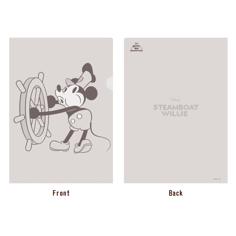 STEAMBOAT WILLIE クリアファイル2