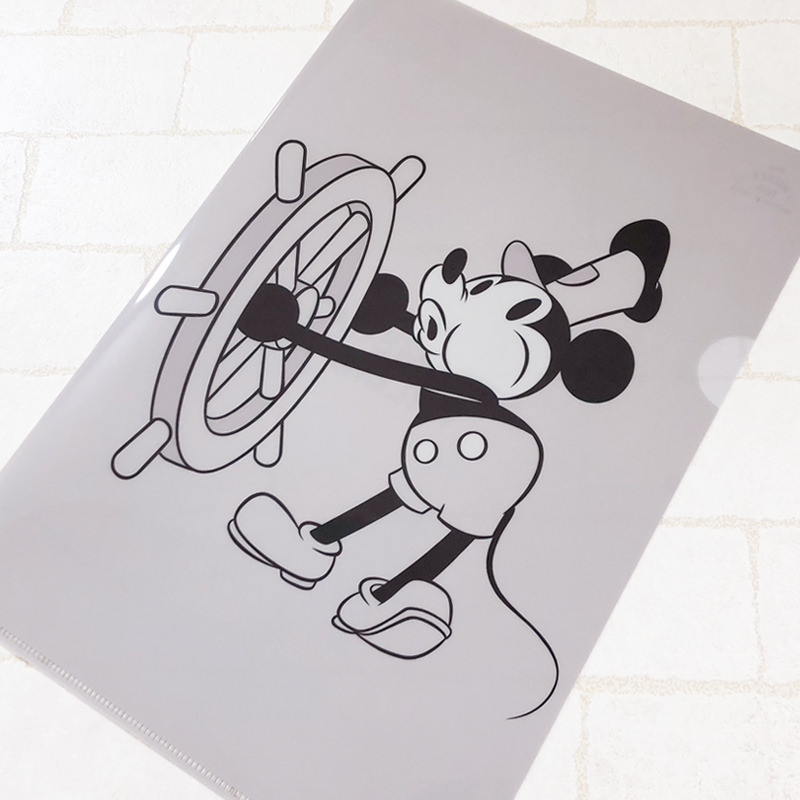 STEAMBOAT WILLIE クリアファイル