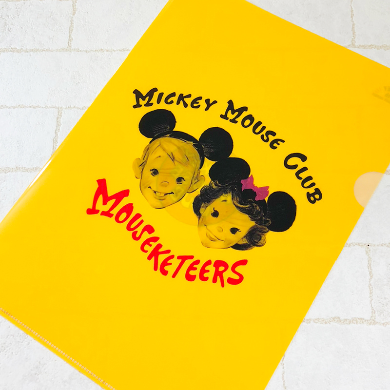 MICKEY MOUSE CLUB クリアファイル