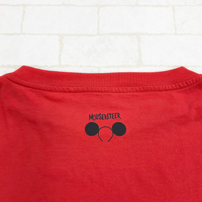 MICKEY MOUSE CLUB Tシャツ 首 デザインアップ
