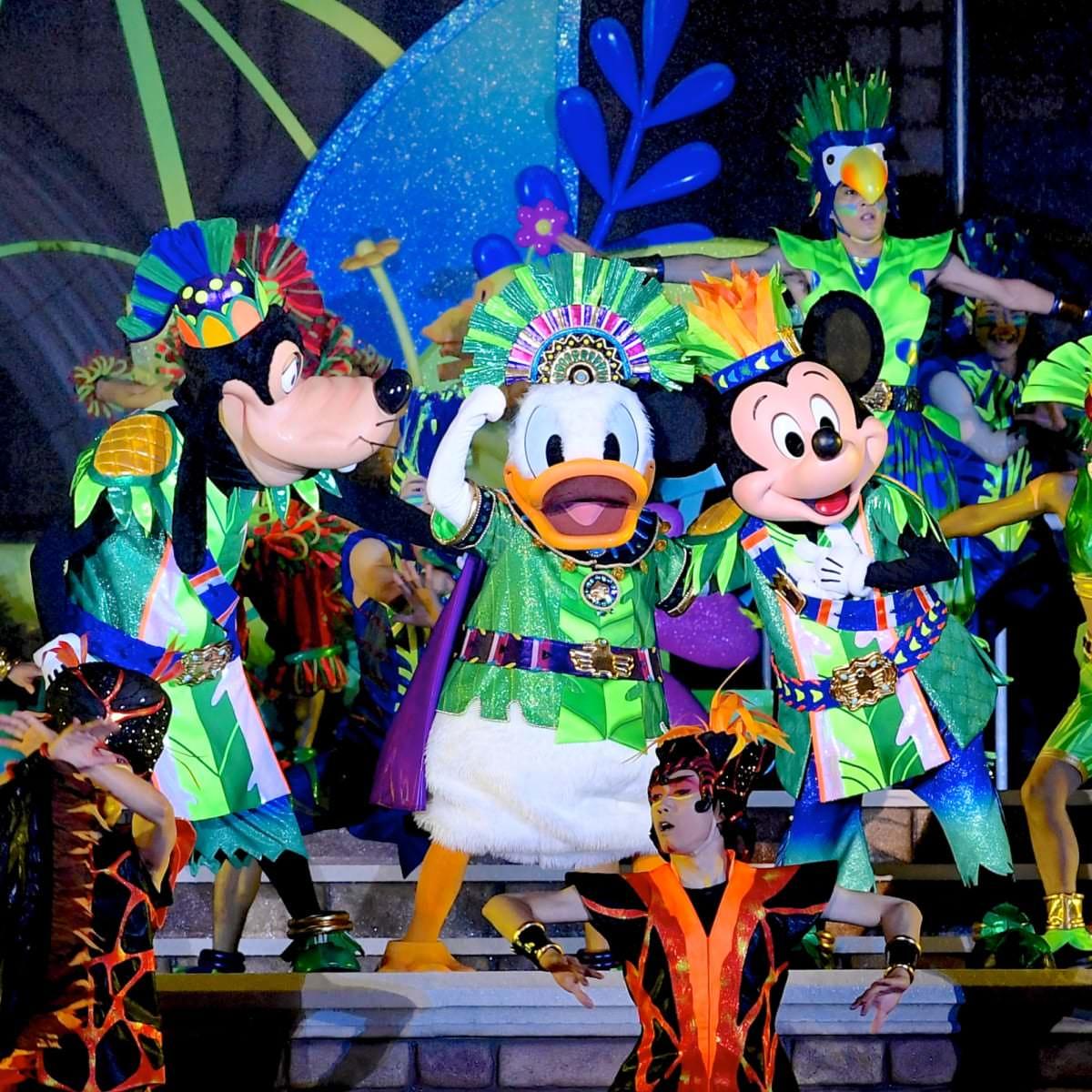 """東京ディズニーランド""""ドナルドのホットジャングル・サマー2019""""メインショー『オー!サマー・バンザイ!』13"""