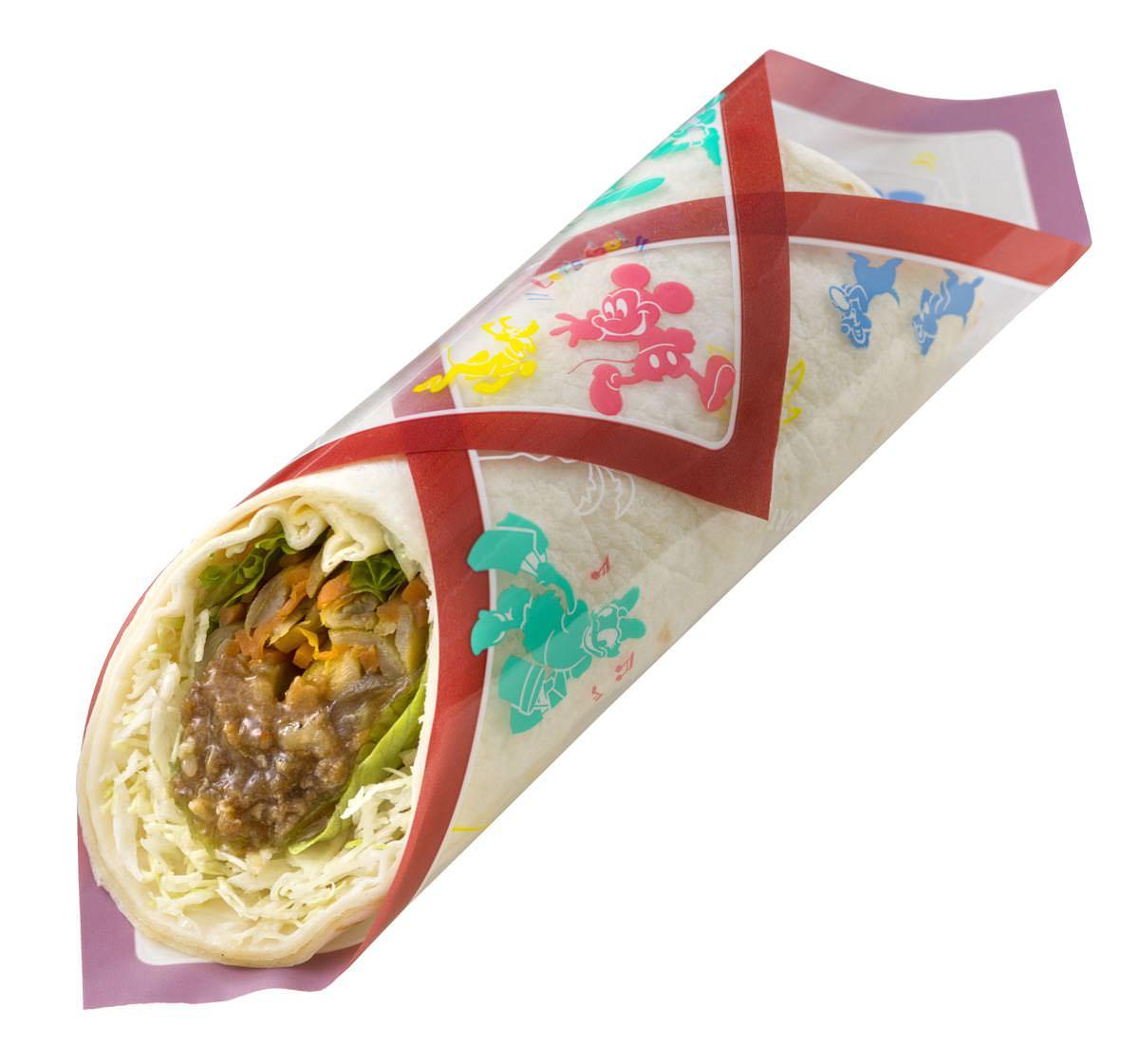 ラップサンド(焼肉&ゴボウサラダ)