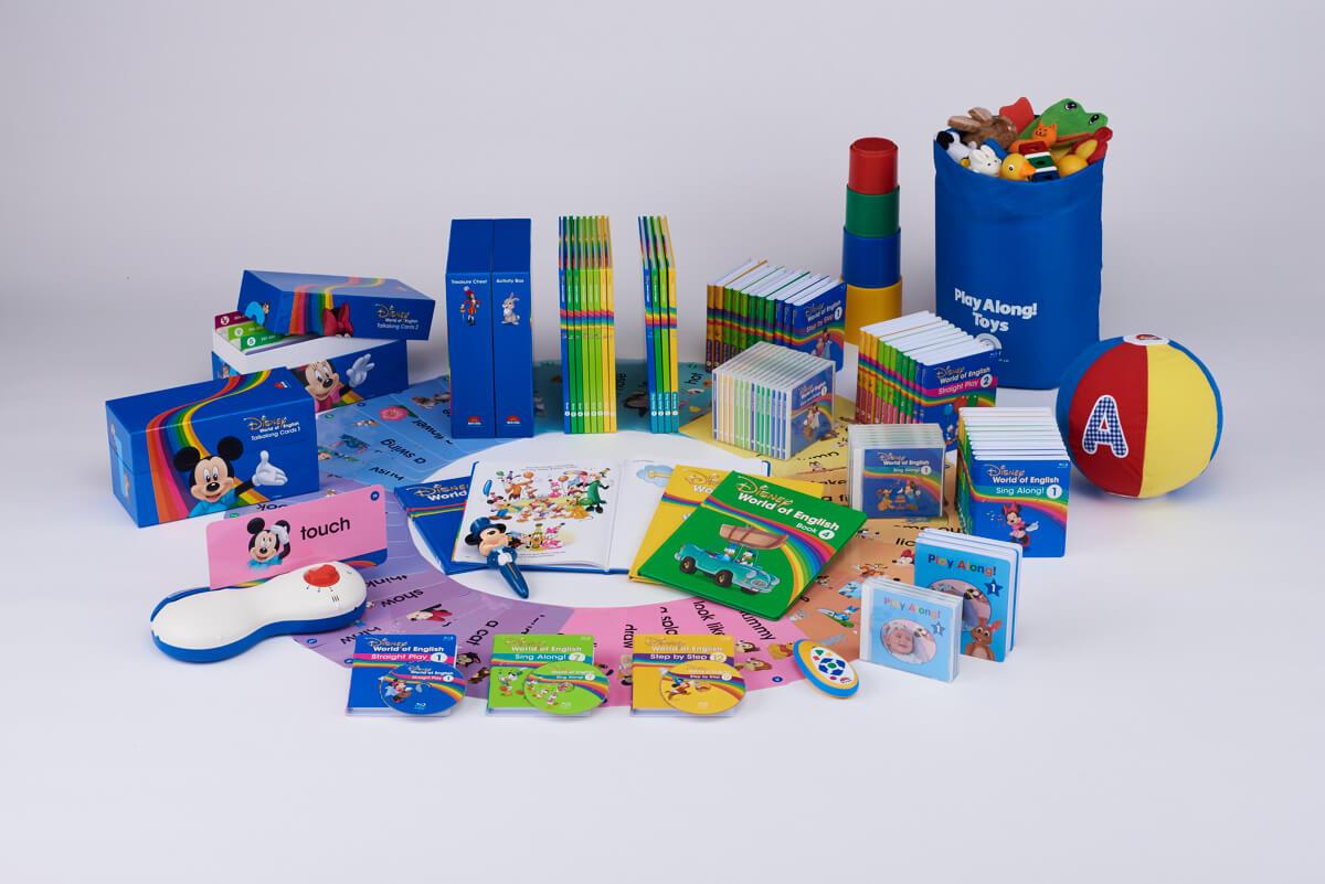 ディズニー英語システム ミッキー パッケージ