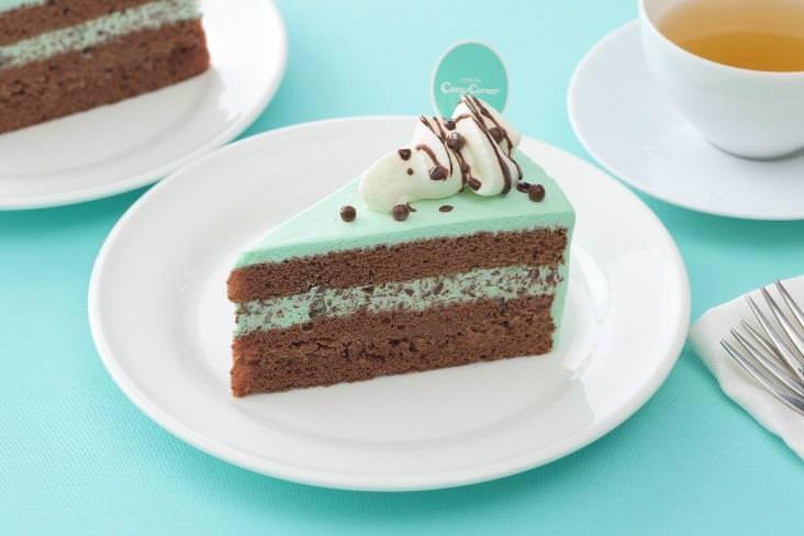 銀座コージーコーナー チョコミントケーキ