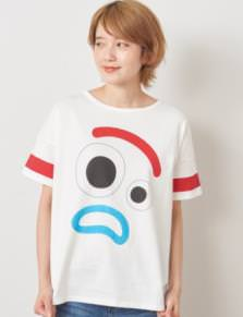 かおかお ビッグシルエットフェイス Tシャツ