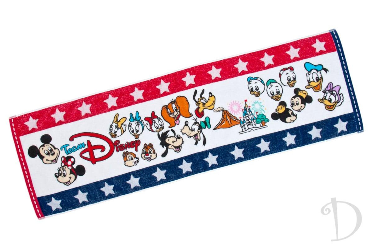 チーム Disney! フェイスタオル