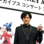 「ウォルト・ディズニー・アーカイブス コンサート」記者発表会 稲垣吾郎さん写真