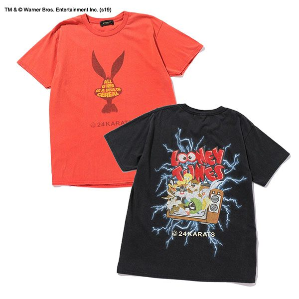 Looney Tunes Washed Tee SS
