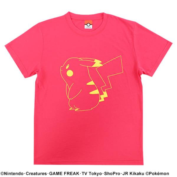 【ポケモン】ピカチュウ/カラーTシャツ5