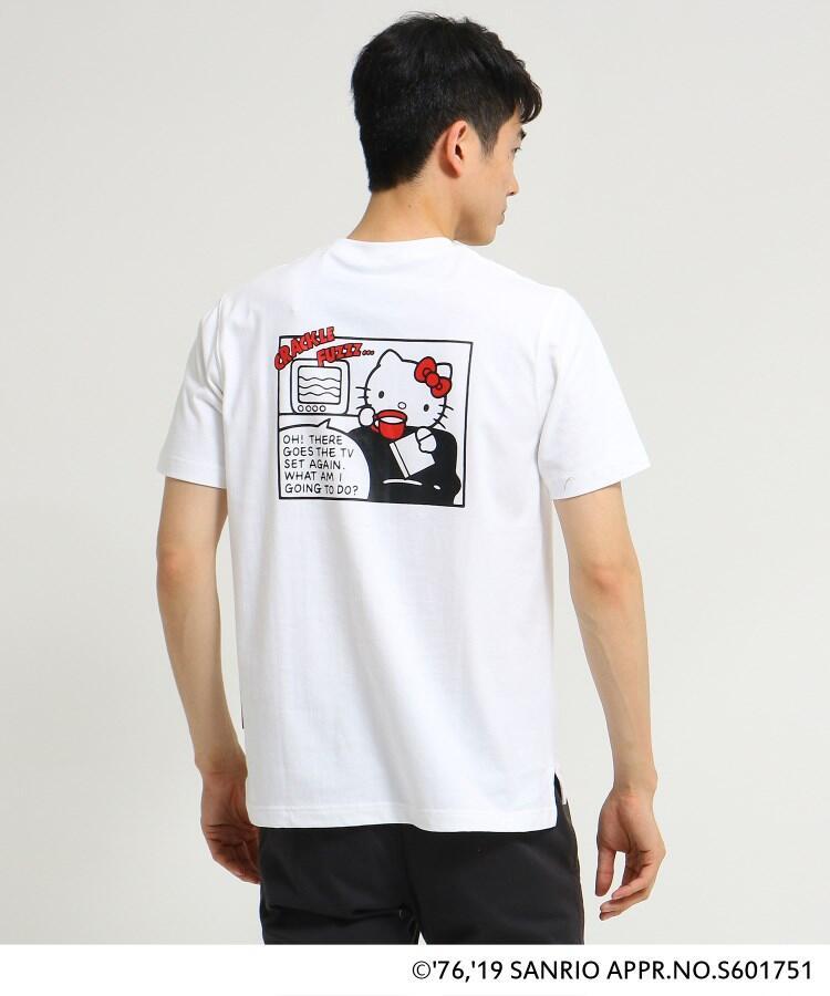 ハローキティ 別注 バックプリント 半袖 Tシャツ6