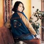 刺繍スカジャン「ライオン・キング」 着用イメージ