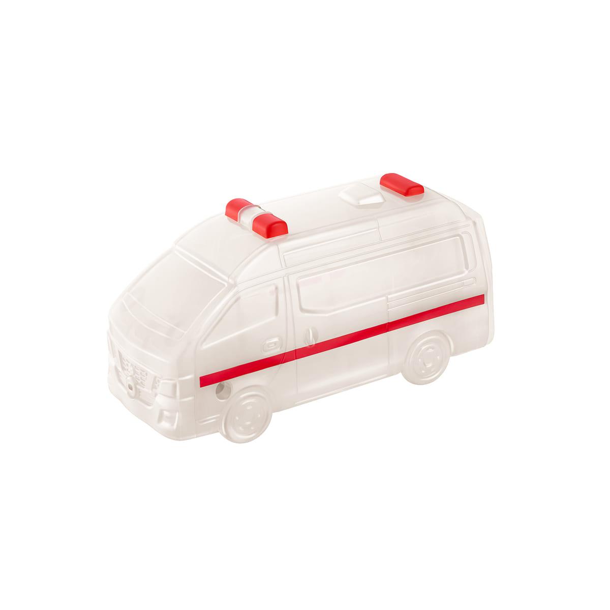 <トミカ>日産-NV350キャラバン-救急車水でっぽう