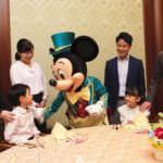 宴会プラン「セレブレーションダイニング&グリーティングプラン(ミッキーマウスコース)」
