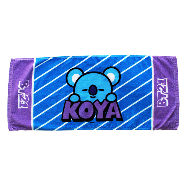【BT21】KOYA フェイスタオル