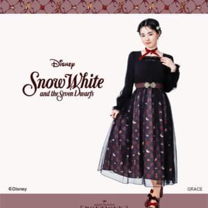Disney Princess Sweet Closet axes femme POETIQUE 白雪姫 ワンピース