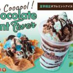 コールドストーン「ダブルミントアイスクリーム」