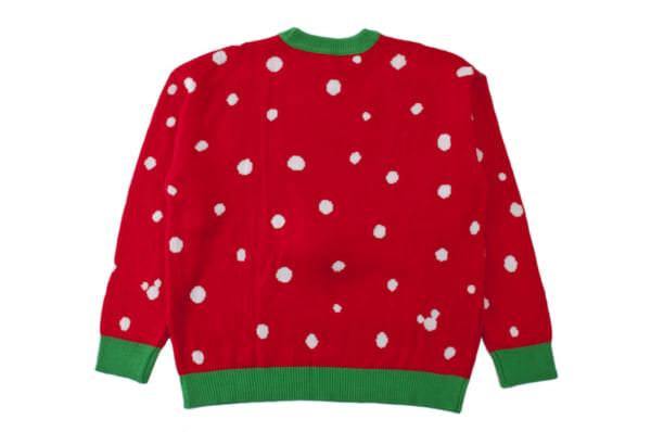 プルート セーター バックスタイル