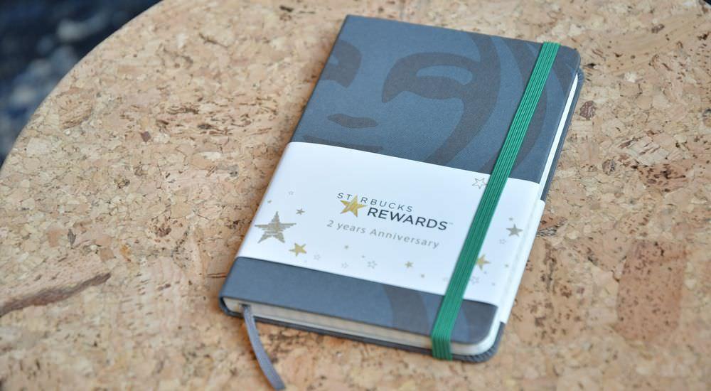 スターバックス リワード「モレスキン クラシック ノートブック」プレゼントキャンペーンアイキャッチ