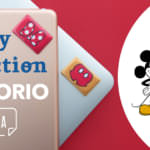 MAMORIO FUDA Disney ver 「ミッキー・ミニー」