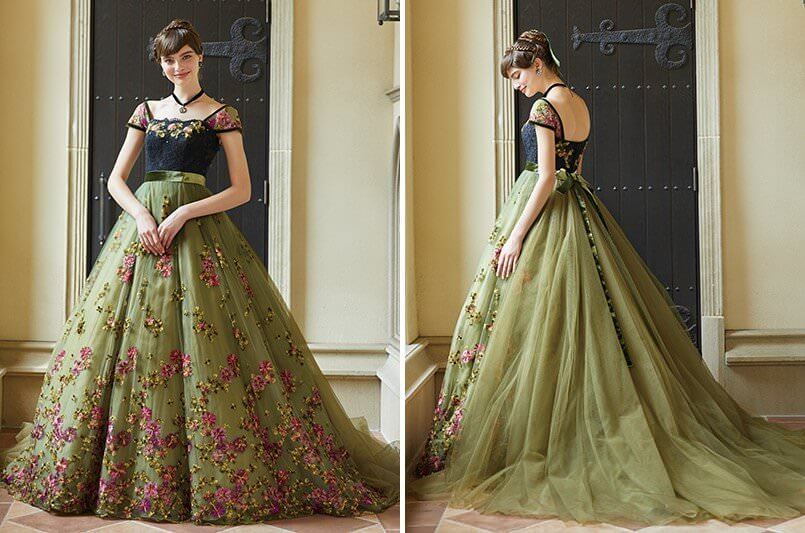 Disney Wedding Dress Collection_アナ2