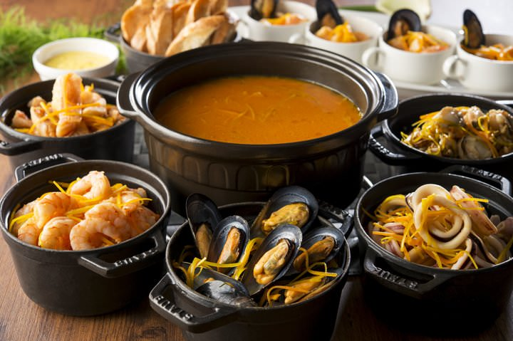 魚介の旨味がスープに溶け込んだ「ブイヤベース」