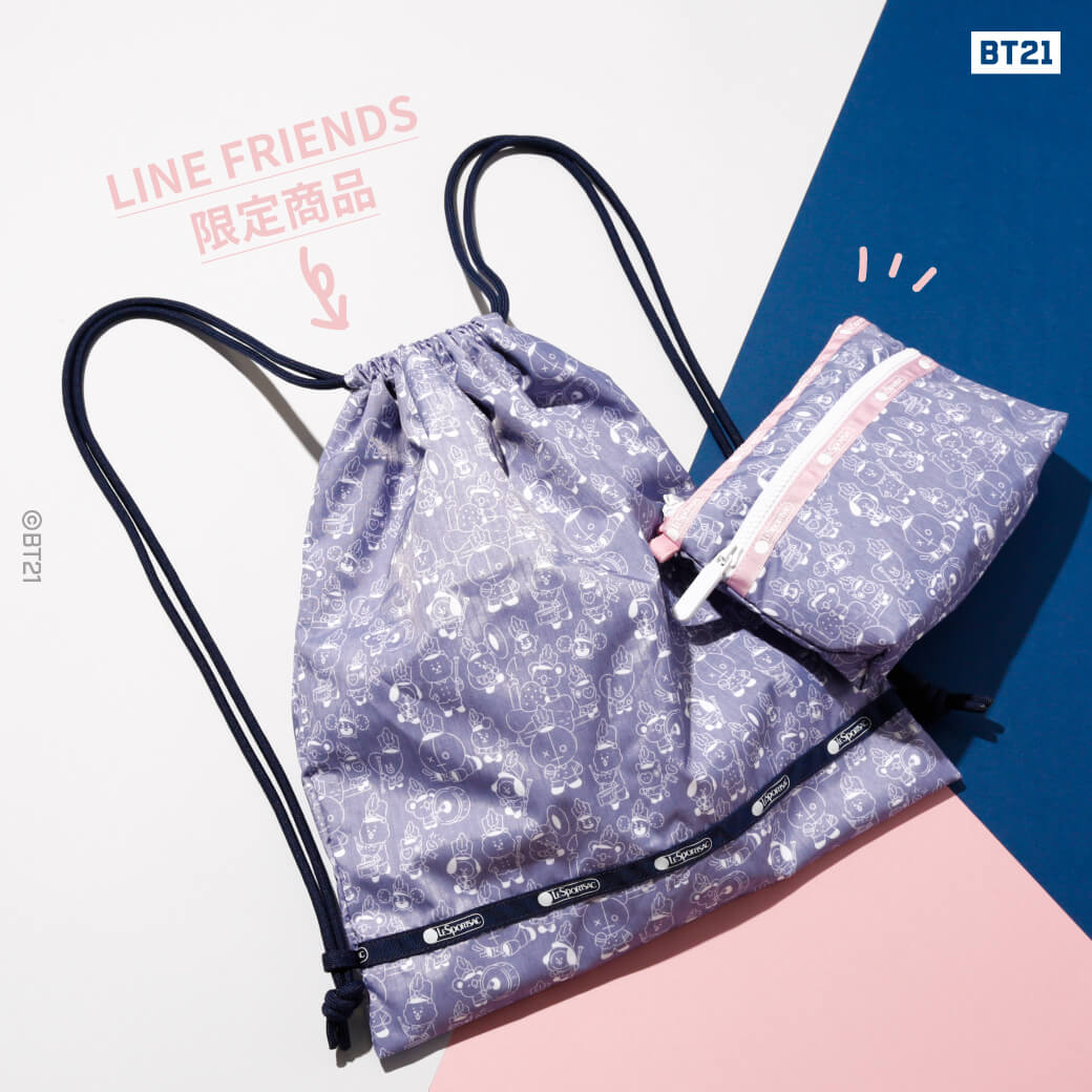 DRAWSTRING BACKPACK/COSMETIC CLUTCH2