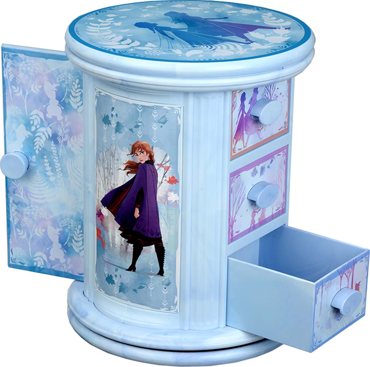 アナと雪の女王2 プレミアムドア付くるくるキャビネット_02