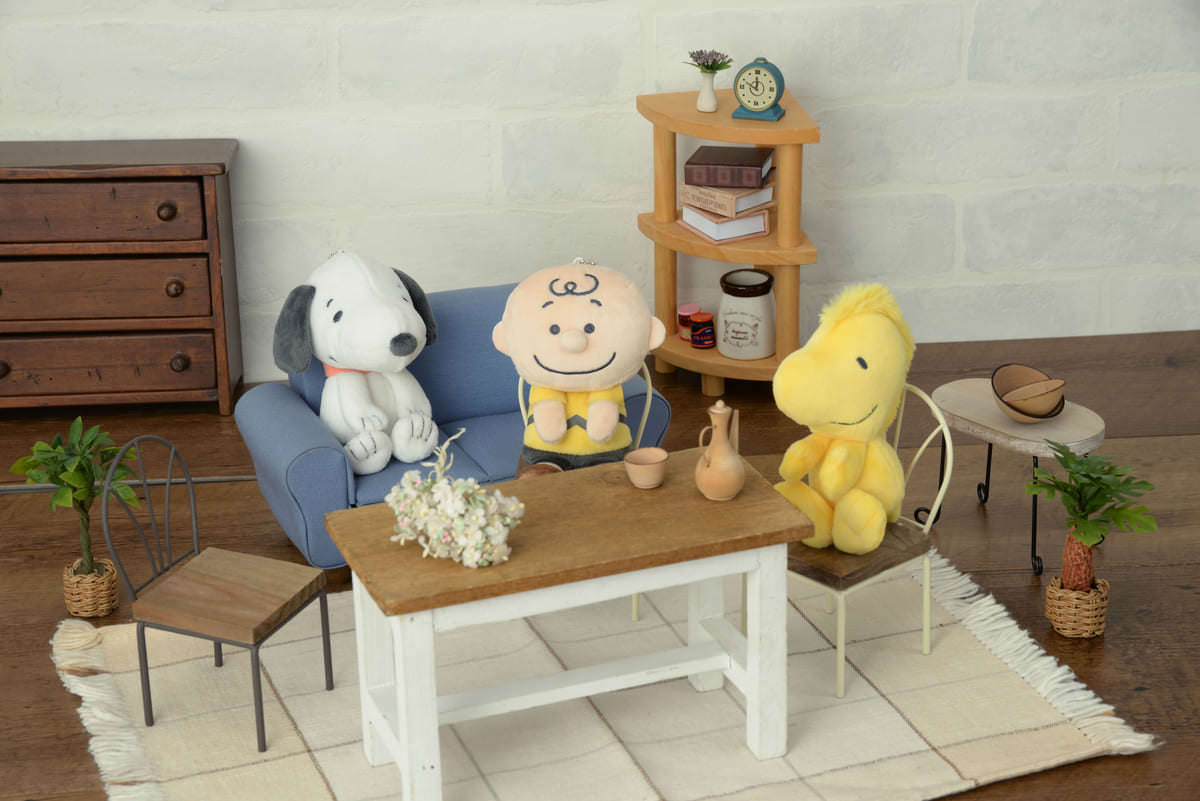 SNOOPY & y♡u ​キーチェーンマスコット