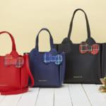 サンリオ「ハローキティ タータンデザインバッグ」