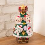 """東京ディズニーシー""""ダッフィー&フレンズのウィンターホリデー""""クリスマスツリー"""