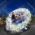 Snow Dance Christmas Wreath イメージ