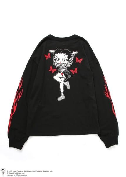 BETTY BOOP(TM) (ベティー ブープ(TM))ロングTシャツ3