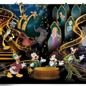 ディズニーキャラクターたちと一緒に素晴らしい音楽をめぐる旅!東京ディズニーランド『ミッキーのマジカルミュージックワールド』