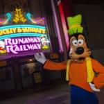 フロリダ ウォルト・ディズニー・ワールド「ディズニー・ハリウッドスタジオ」ミッキーとミニーのランナウェイ・レイルウェイ(Mickey & Minnie's Runaway Railway)オープン