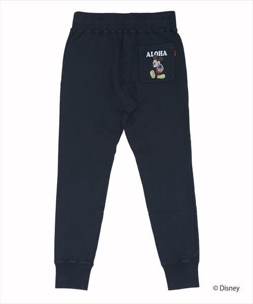 TMT VINTAGE SWEAT PANTS(ALOHA)/MICKEY2